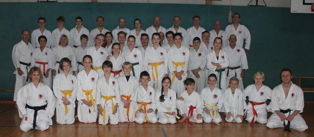 Gruppenbilder Karate 06.12.2015 (BA)